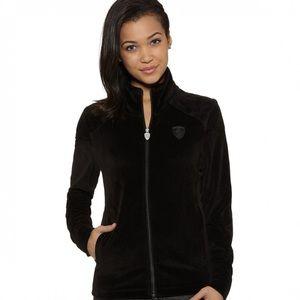 Puma Ferrari Women's Lifestyle Velour Jacket Large